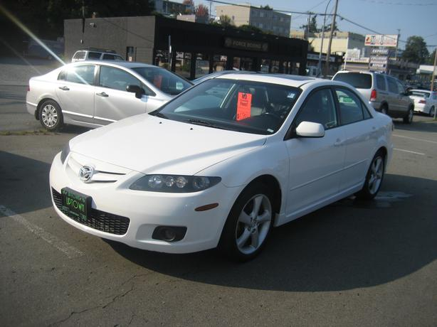2007 Mazda6 4cylinde auto leather roof NO ACCIDENTS