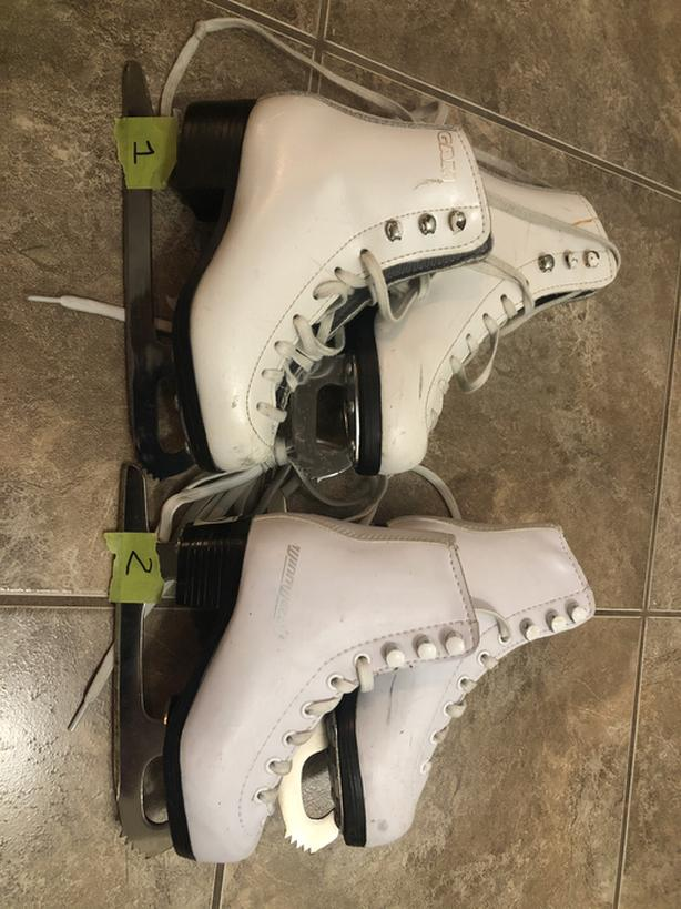 Girls Figure skates (various sizes)