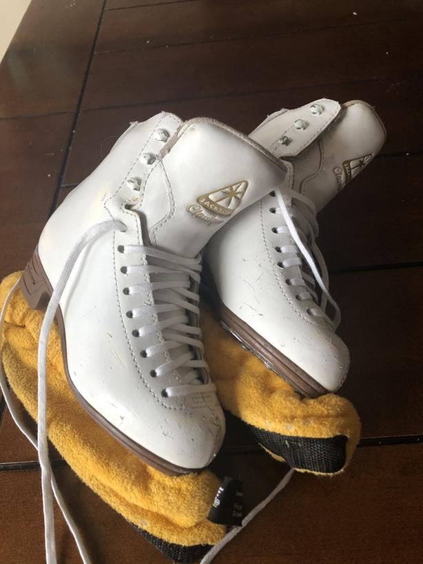 Girls figure skates Jackson size 2C