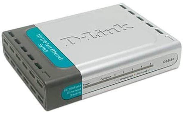 Dlink DSS 5+ 10/100 Ethernet Switch