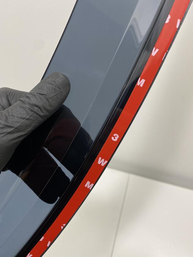 Window deflectors 4 brand new for Toyota Highlander 2014-2019 (black) 3M