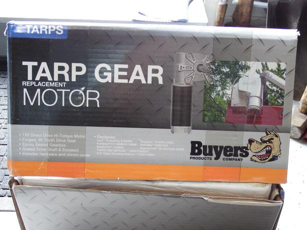 BUYERS Tarp Gear Motor