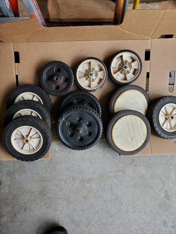 11 MISC. SMALL  WHEELS