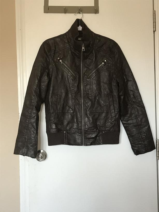 GUESS leather men's jacket