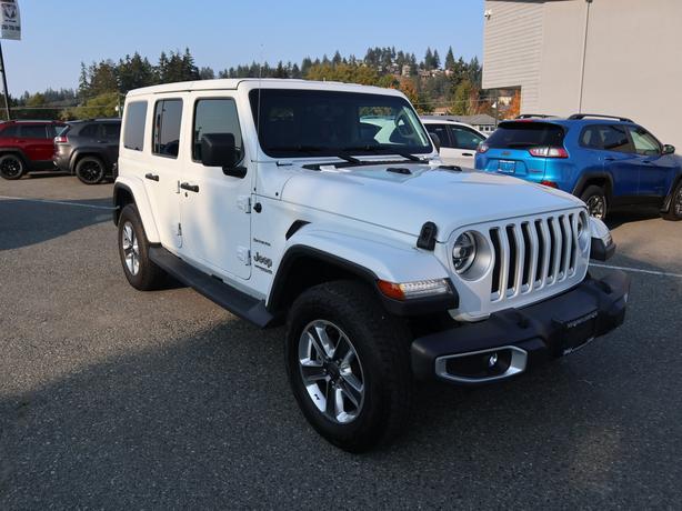 Used 2019 Jeep Wrangler Unlimited Sahara 4x4 SUV
