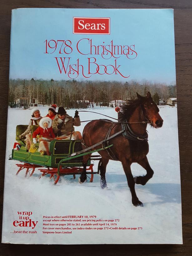 SIMPSONS-SEARS WISHBOOK CATALOGUE - CHRISTMAS, 1978