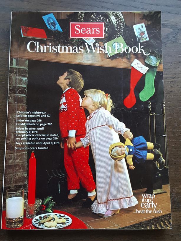 SIMPSONS-SEARS WISHBOOK CATALOGUE - CHRISTMAS, 1977
