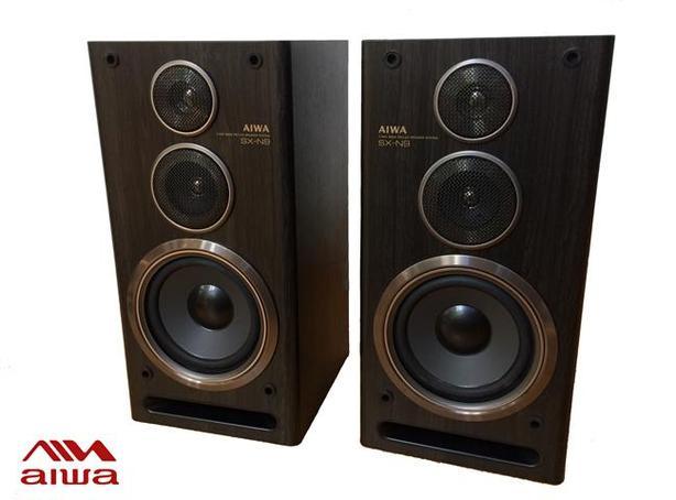 AIWA SX-D9 bookshelf speakers