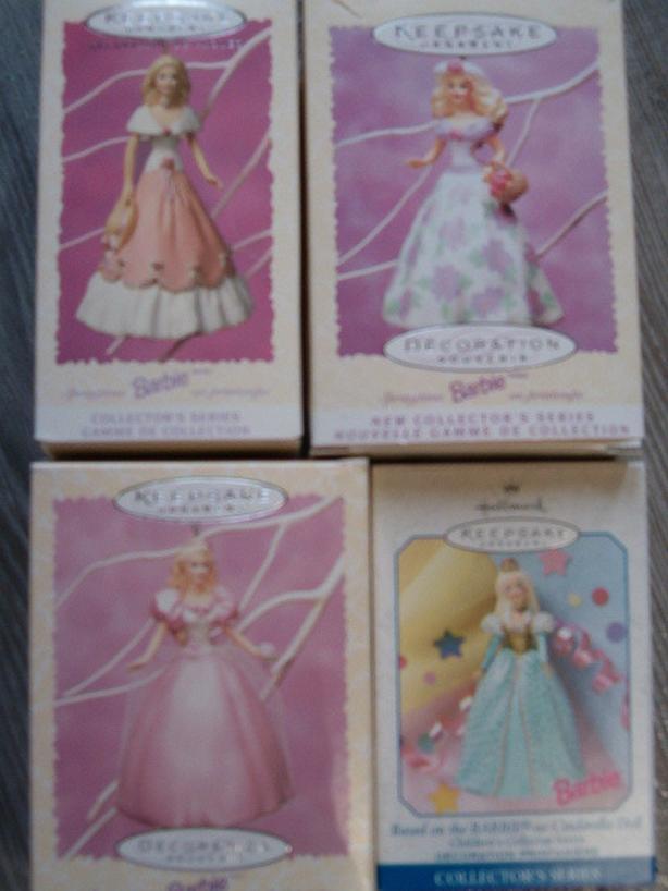 barbie Christmas ornaments ,