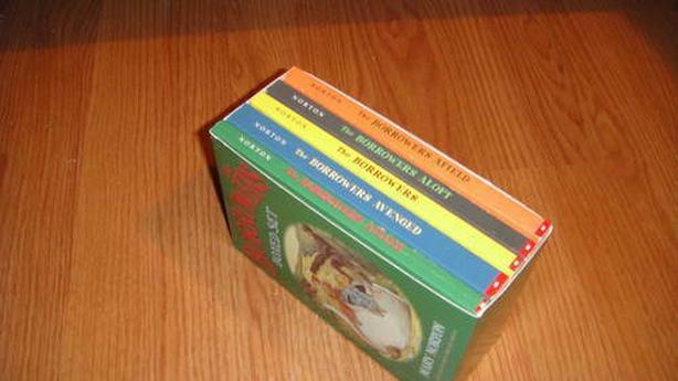 book set, BORROWERS BOX BOXED SET