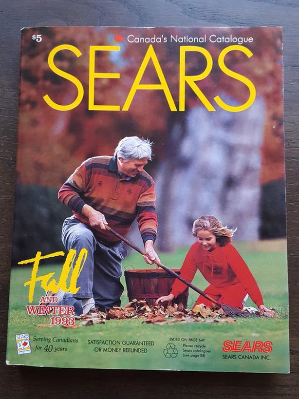 SEARS CANADA CATALOGUE - FALL & WINTER 1993