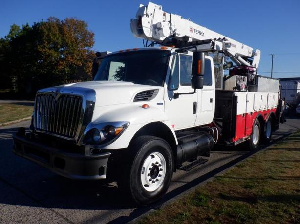 2008 International 7500 Workstar Diesel Drill Truck with Air Brakes and Generato