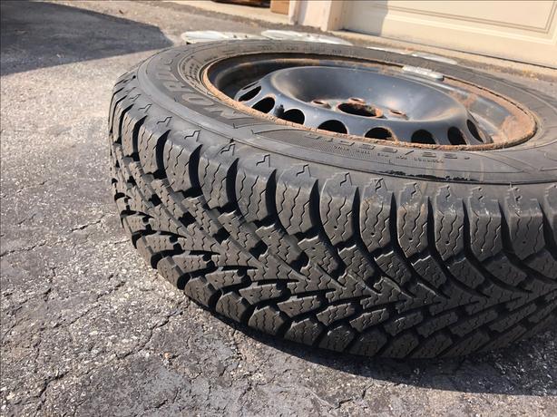 Goodyear Winter Tires (4) 195/65R15 on Rims
