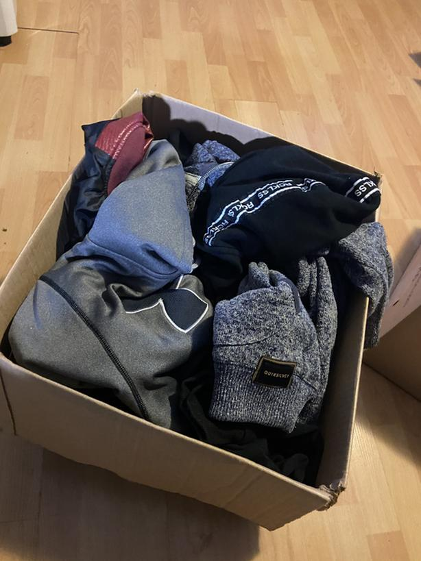 100$ for sweaters