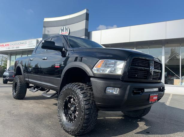 Used 2012 Ram 2500 Laramie 4WD DIESEL NAVI SUNROOF LIFTED TUNED DELET Truck Crew