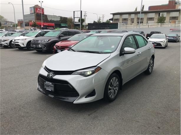 2019 Toyota Corolla XLE (CVT)