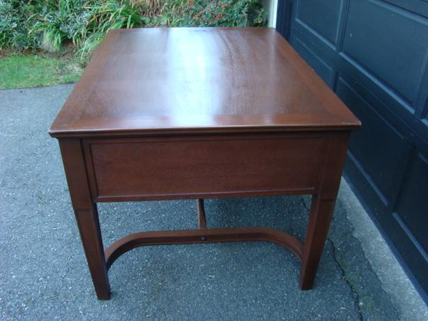 Antique Partners Desk solid mahogany