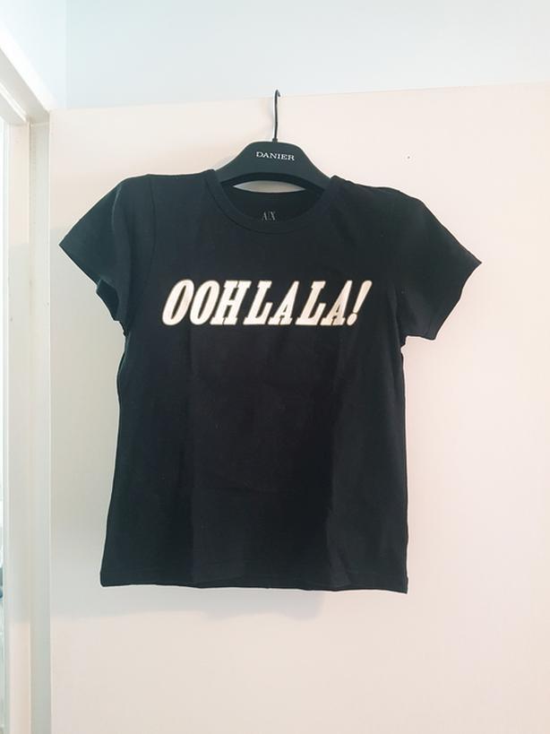 Armani Exchange black tshirt