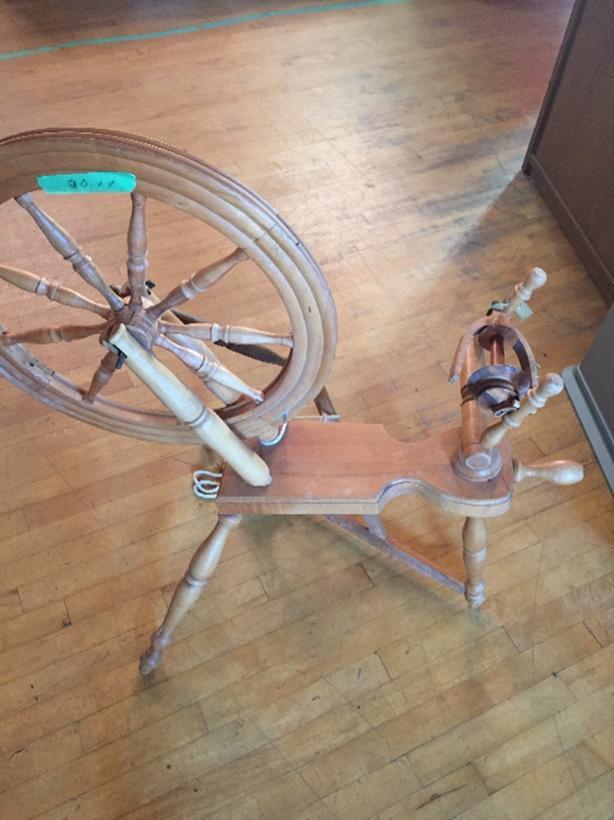 Spinning Wheel Wood