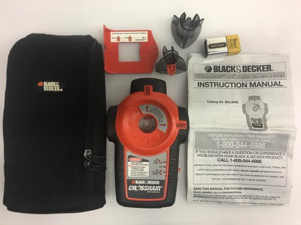 Black & Decker Crosshair 90 Degree Auto Laser Level