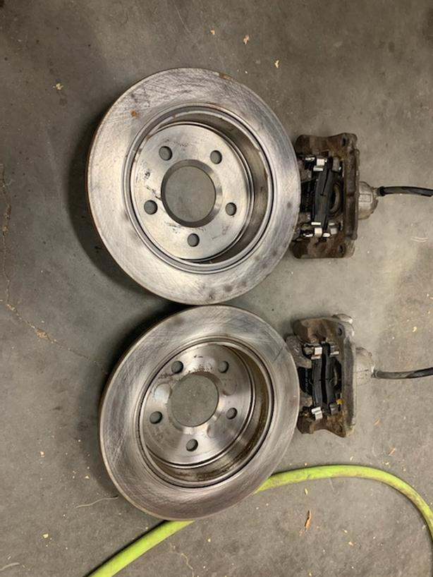 Brakes Caliper's Rotor's and Pad's brand new