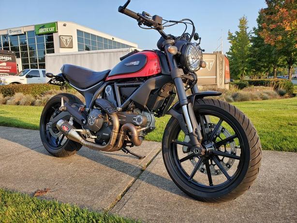 2015 Ducati Scrambler Icon Ducati Red