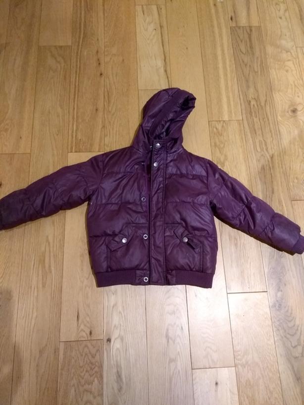 Kids winter jacket size 5