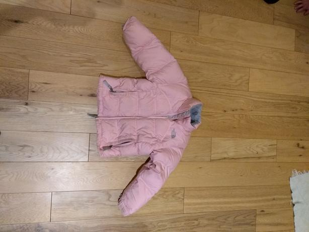 Girls North Face winter ski jacket size extra small