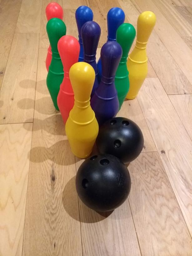 Bowling set for kids