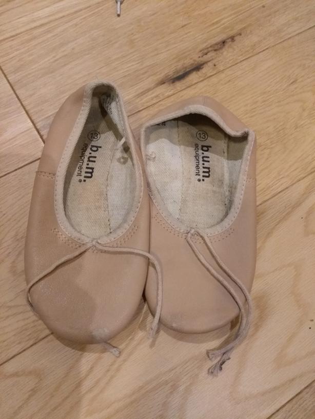Ballet slippers size 13