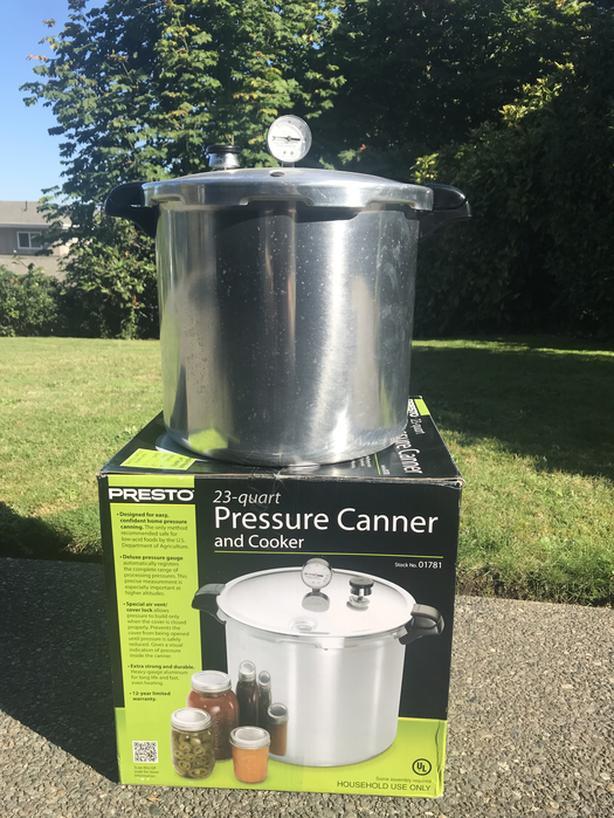 Presto 23 Quart Pressure Canner Victoria City Victoria Mobile