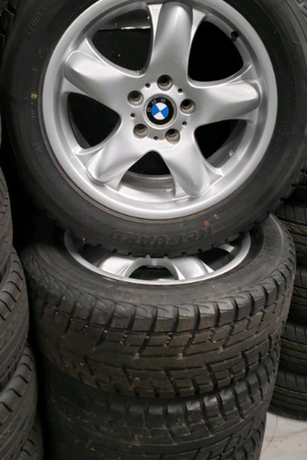 Bmw x3 and x5 winter tire package