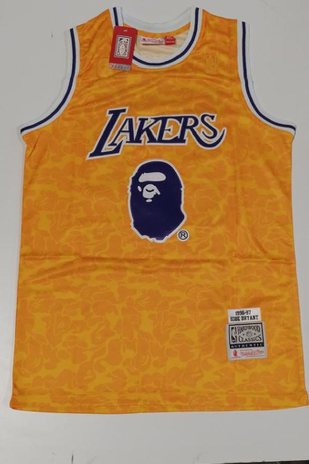 Bape hardwood classics Kobe Bryant jersey