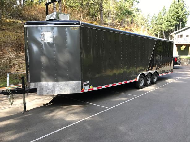 2017 Continental Cargo Base-camp hunting trailer - walk in cooler