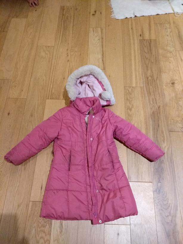Girls winter jacket - size 4