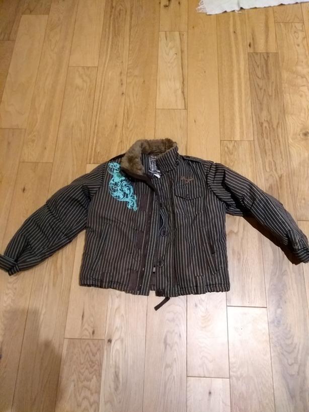 Girls winter jacket size 8