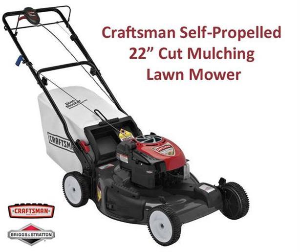 5.75 HP Lawnmower ~ Self-Propelled