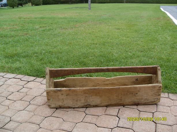 Antique Homemade Wood Tool Box