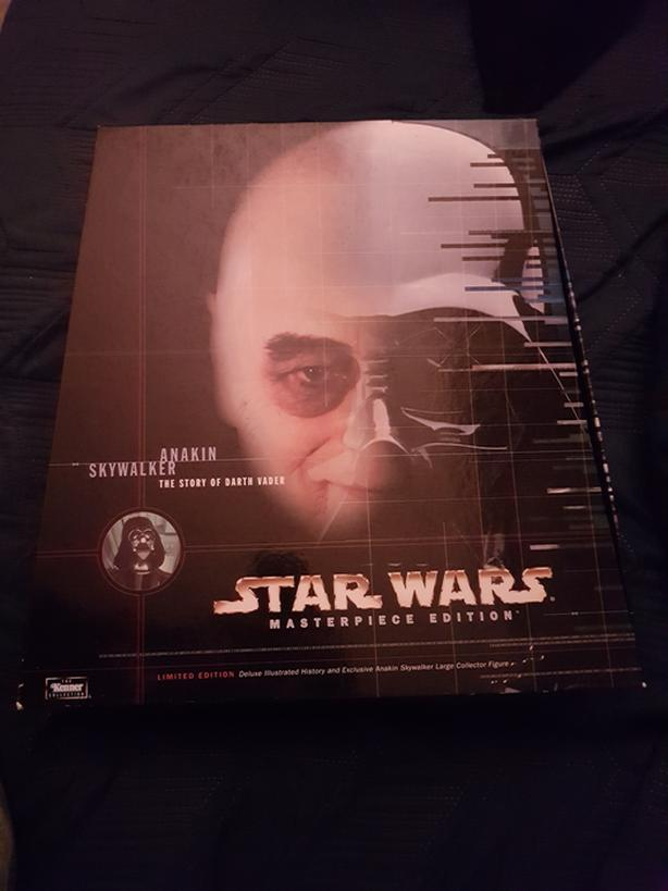 Star wars anakin skywalker masterpiece edition