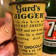 RARE 1920's VINTAGE GURD'S JIGGER HOT CHOCOLATE TIN CUP