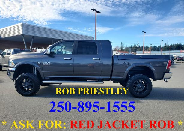 2018 RAM 2500 MEGA CAB LARAMIE 4X4 * ask for RED JACKET ROB *