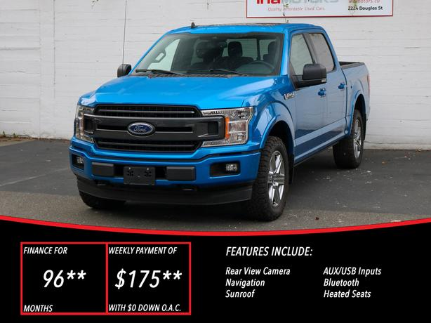 2019 Ford F-150 XLT FX4 - LOCAL BC TRUCK - NO ACCIDENTS!