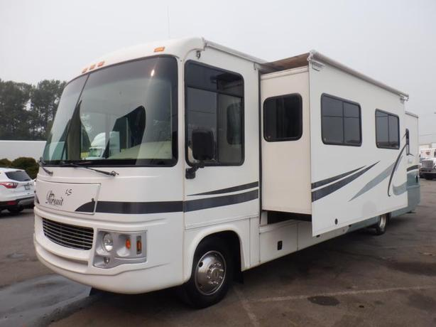 2003 Ford Georgie Boy Pursuit Class A 33 Foot Motorhome With Two Slides