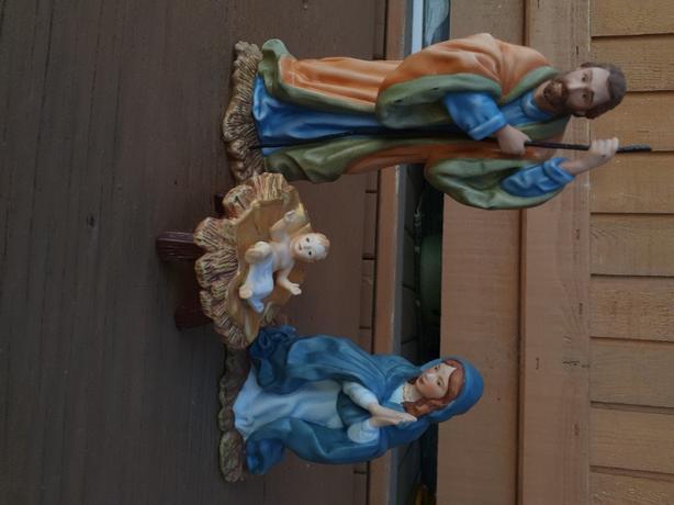 Franklin Mint Nativity set