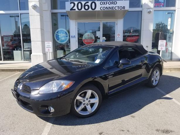2007 Mitsubishi Eclipse GS Spyder Power Convertible Top- Heated Seats