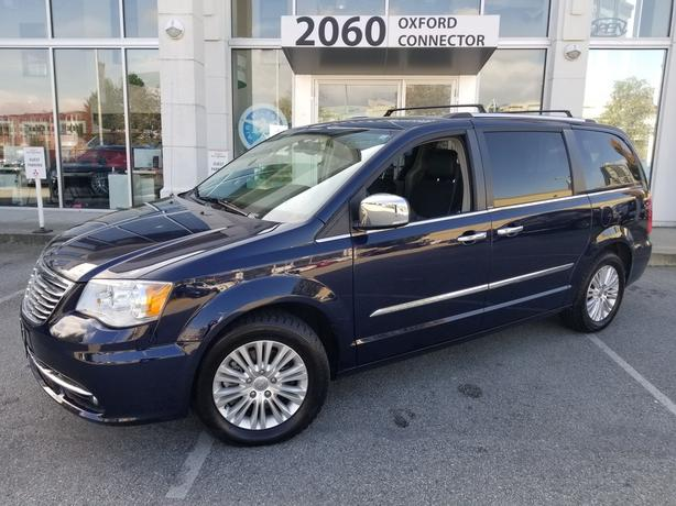 2014 Chrysler Town & Country Limited Navi-DVD-Sunroof-Leather FWD