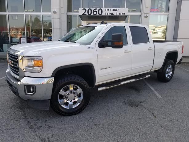 2016 GMC SIERRA 3500HD SLE Tow Package-Back Up Cam-Heated Seats-4x4 4WD