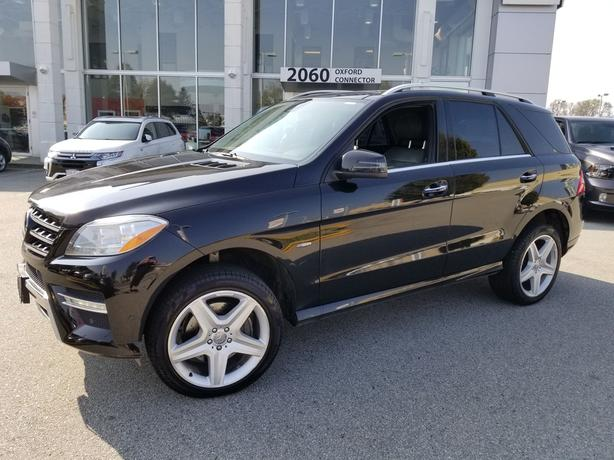 2012 Mercedes-Benz M-CLASS ML 350 BlueTEC Navigation-Leather-Sunroof AWD