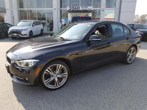 2016 BMW 3 SERIES 328d xDrive Diesel-Navigation-Leather-Sunroof AWD