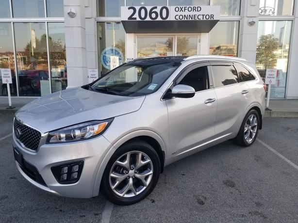 2016 Kia Sorento 2.0L Turbo SX Navigation-Leather-Sunroof AWD
